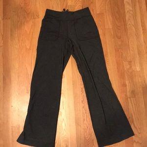 Lululemon Dark Gray Yoga Pants Size 4